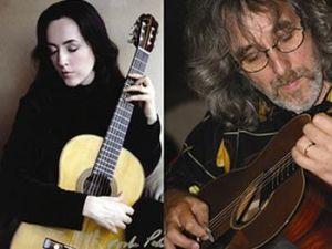 Virginia Luque and Gordon Giltrap