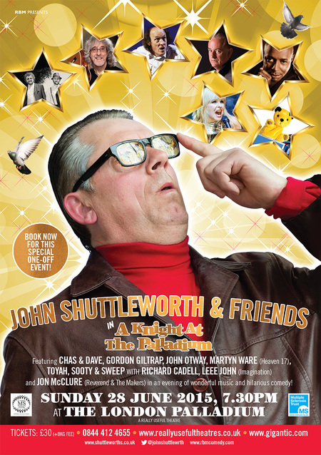 Guest appearance with John Shuttleworth and Friends