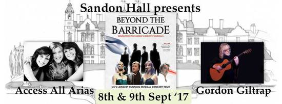 With Beyond the Barricade and Access All Arias