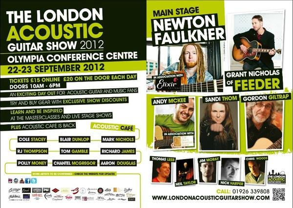 London Acoustic Guitar Show