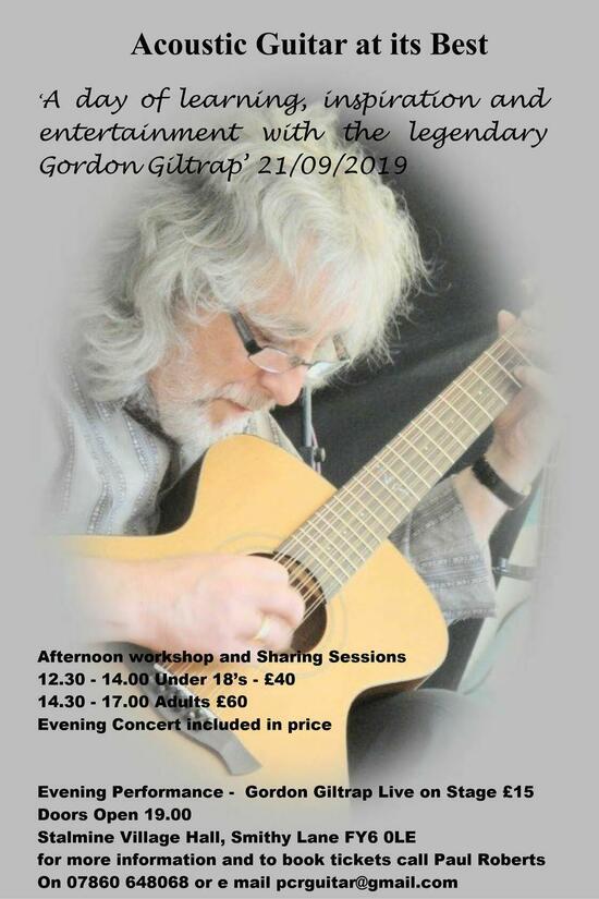 Gordon Giltrap in concert