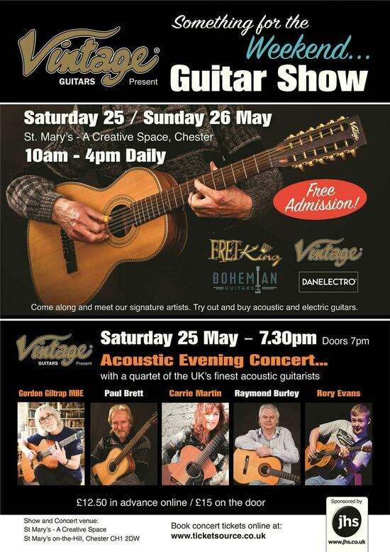 Vintage Guitars 039Something for the Weekend039 Guitar Show