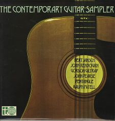 cover of Contemporary Guitar Sampler Volume 1