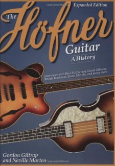 cover of The Hofner Guitar - A History