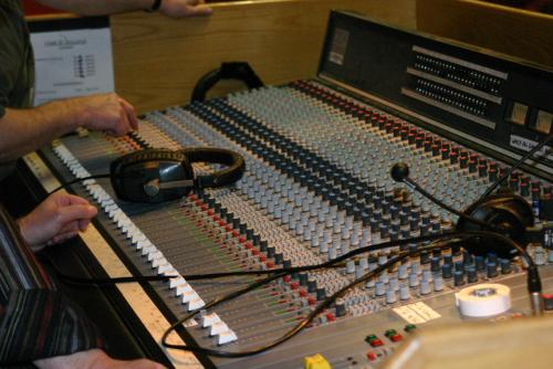 The sound board