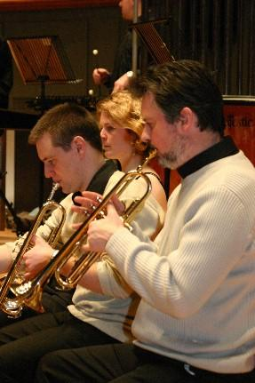 Sheffield Philharmonic musicians