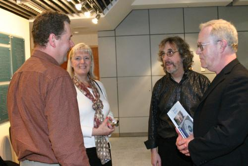 Tim and Lori Blixt with Gordon and Roger Bruce