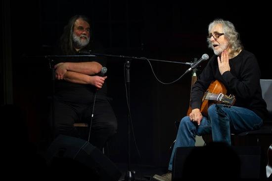 Gordon Giltrap and Steve Pilkington