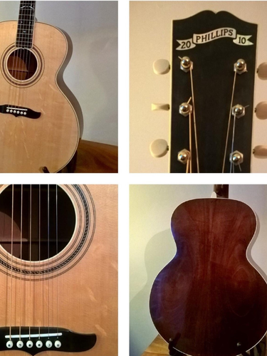 Steve Phillips handmade guitars for sale