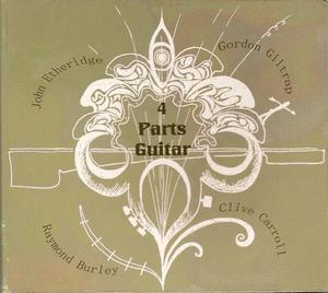 4 Parts Guitar CD cover