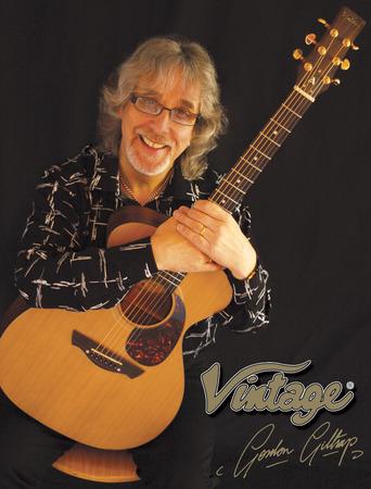 Gordon Giltrap signature guitar wins MIA Award