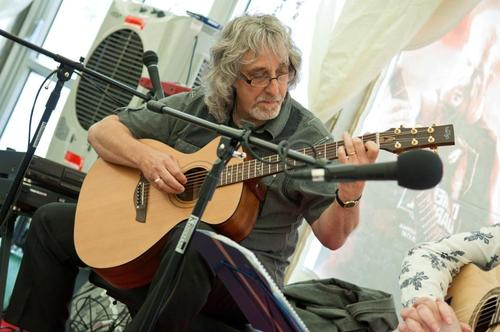 Gordon at the JHS event 2011 Photo copy G Barlow