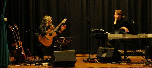 Gordon Giltrap and Oliver Wakeman at Maltby