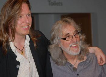 Gordon and Oliver copy Eddie Giddings