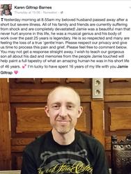 RIP Jamie Giltrap